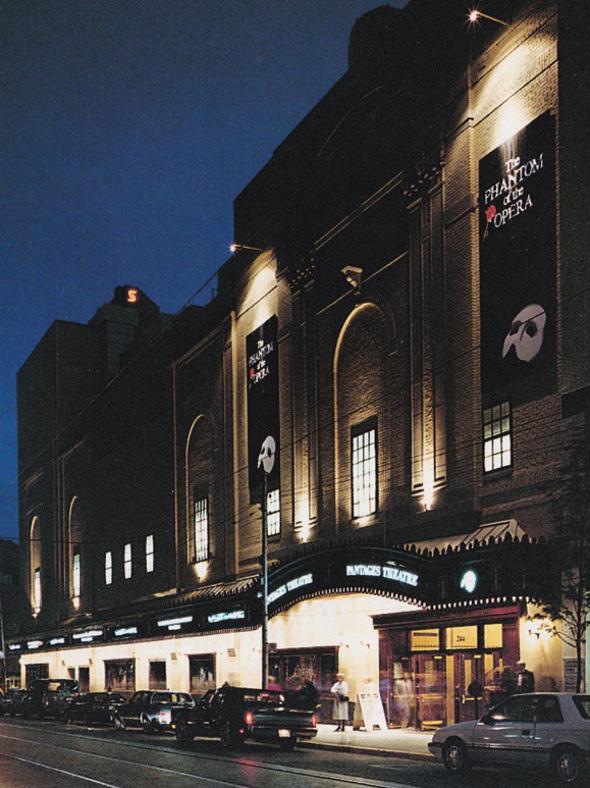 Phnatom Opera Toronto
