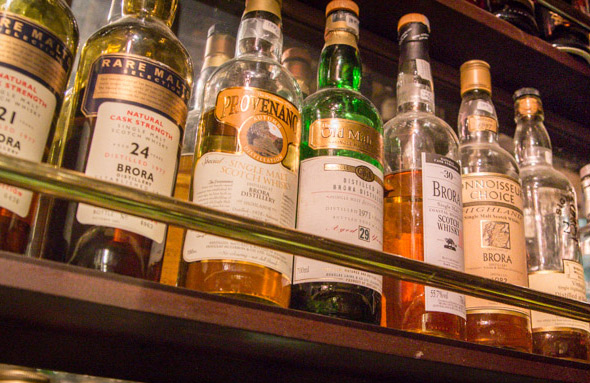 whisky bars toronto