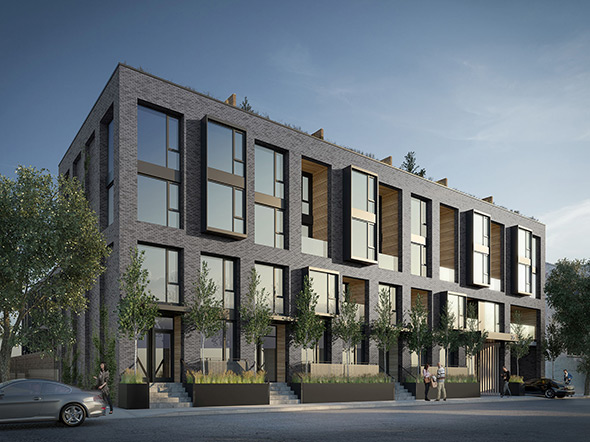 The Top 5 New Townhouse Projects In Toronto