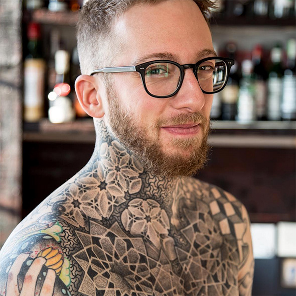 Toronto chef tattoos