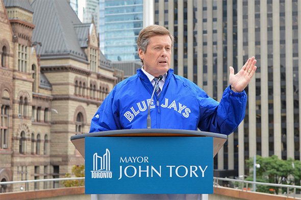 Blue Jays city hall
