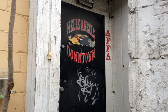 Events in toronto: Hells Angels' former Toronto clubhouse up