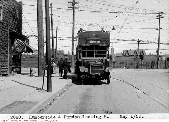 first ttc bus route
