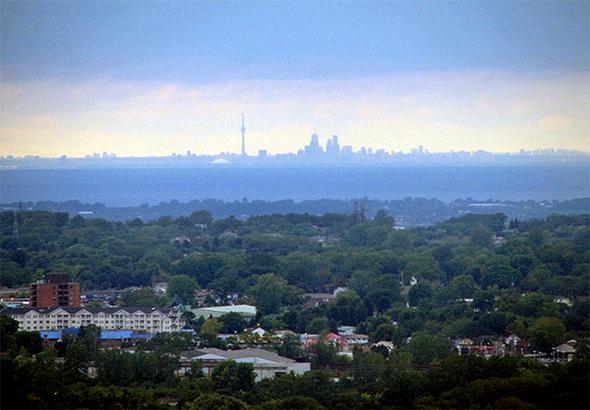 What Toronto Looks Like From Niagara Falls