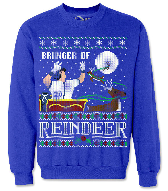 4f90643d735 5 ugly Christmas sweaters for Toronto sports fans. ugly christmas sweater