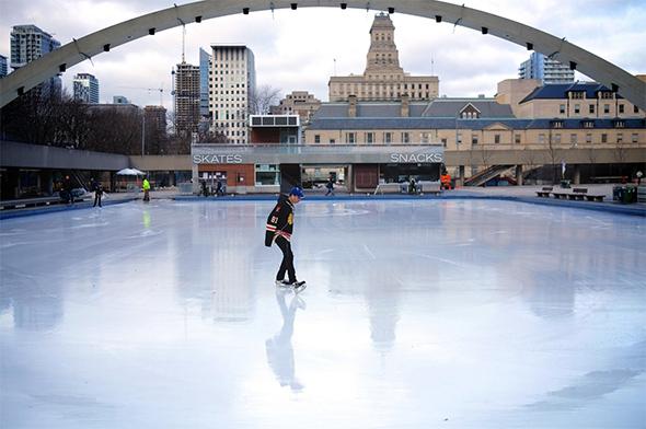 skating rinks toronto