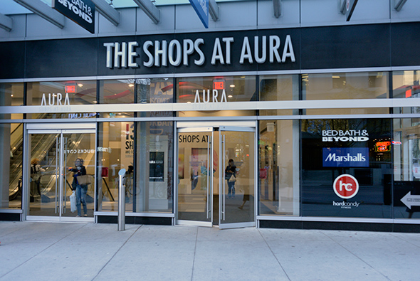 shops at aura