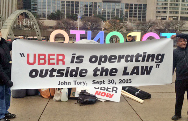 how to call uber in toronto