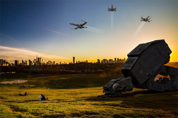 This is what toronto would look like in a star wars film - Paysage star wars ...