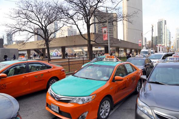 Toronto taxi strike