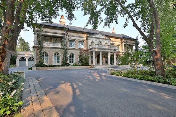 expensive home toronto