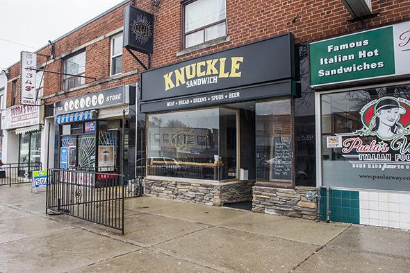 Knuckle Sandwich Toronto