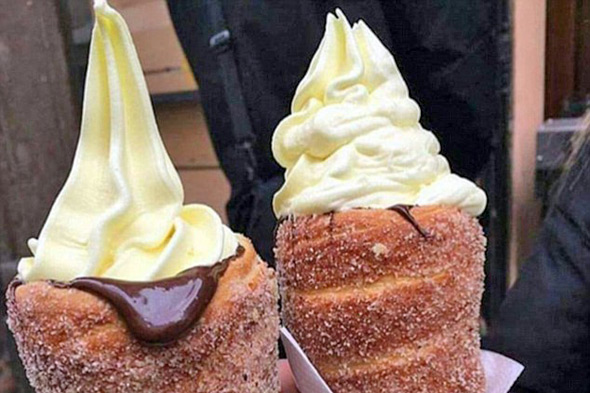 donut cones
