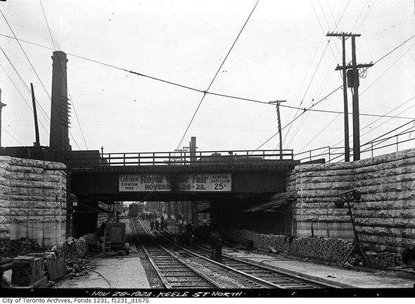 Keele Street subway Toronto