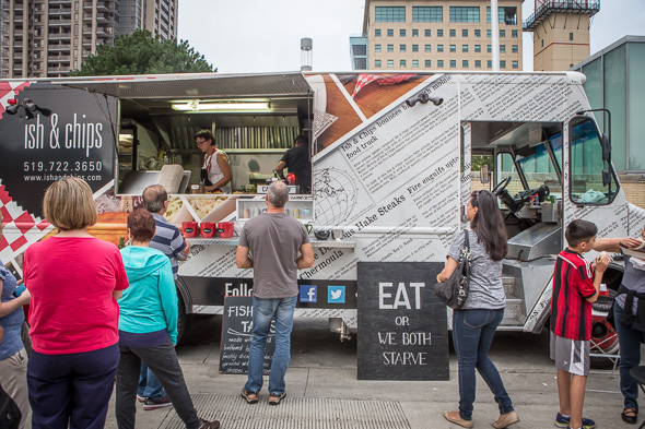 Second Sunday On King Food Truck