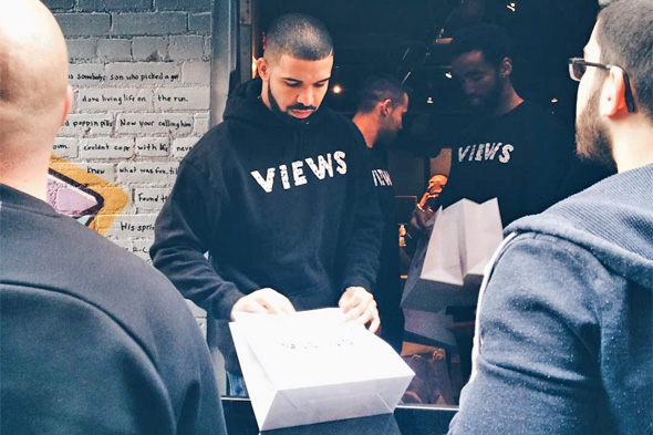 drake views popup
