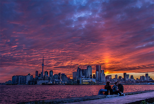 The top 10 places to view the sunset in Toronto