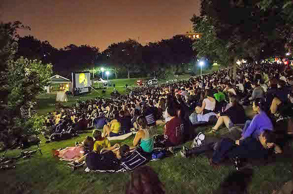 christie pits outdoor movies