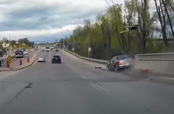car accident toronto
