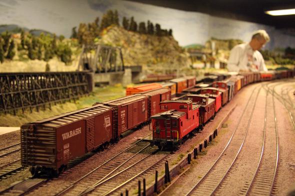 Toronto model railroad club