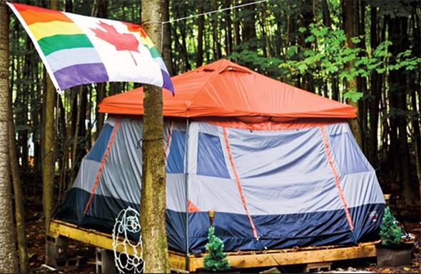 gay camping toronto