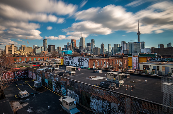 5 secret places in Toronto to view the skyline