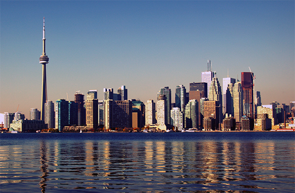How much Toronto&#39-s skyline has changed in 10 years