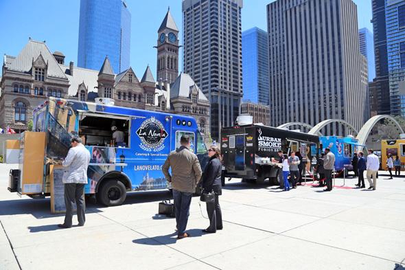 Food Trucks Financial District Toronto