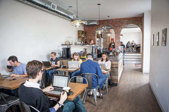 wifi cafe toronto