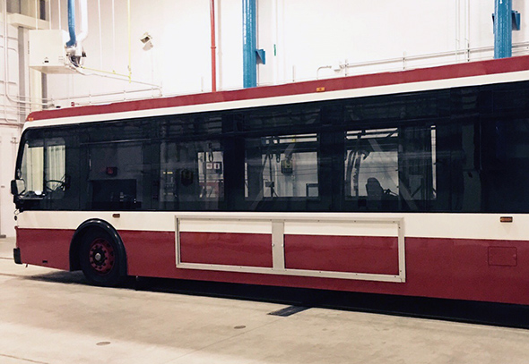 new TTC bus design
