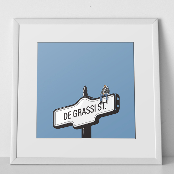 drake street sign toronto
