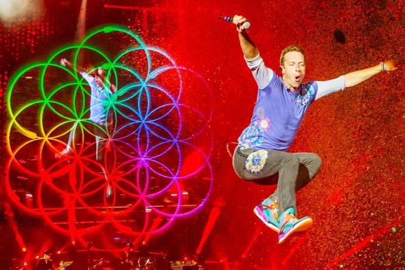 Coldplay Tour American Express