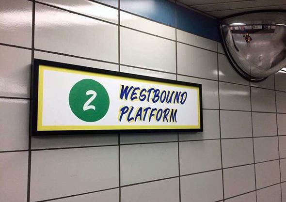 Bathurst subway station gets the Honest Ed's treatment