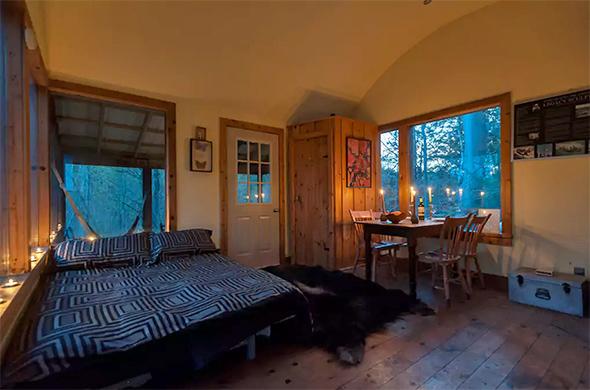 treehouse cabin near toronto