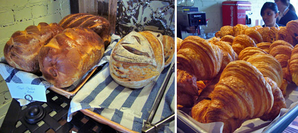 Challah and Croissant