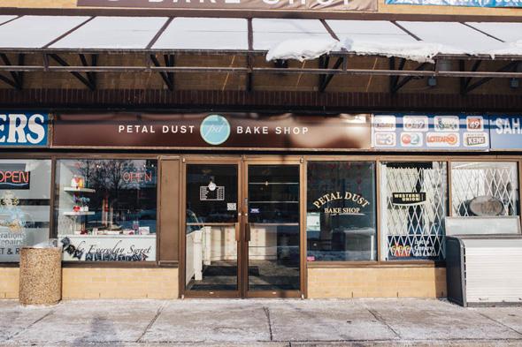 petal dust bake shop toronto