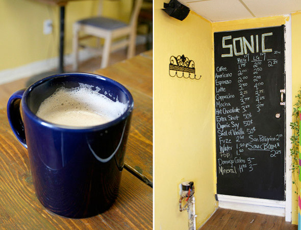 sonic cafe