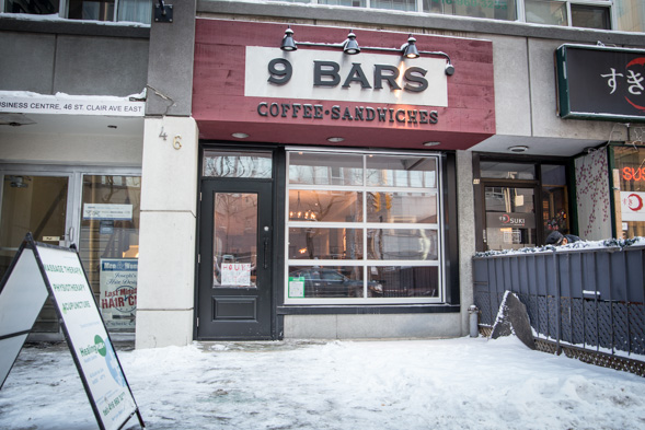 9 bars