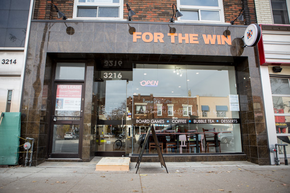 for the win cafe toronto