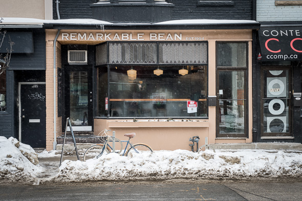 remarkable bean leslieville toronto