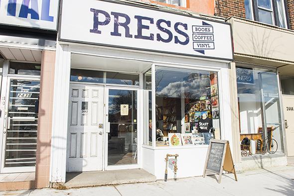 press cafe toronto