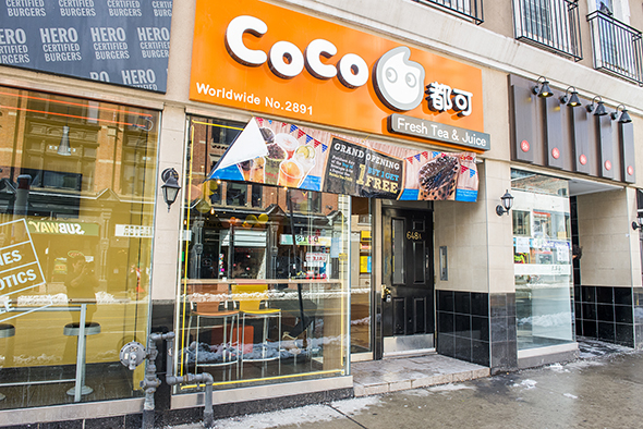 Coco Fresh tea and juice toronto