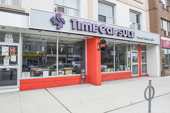 Time Capsule Cafe