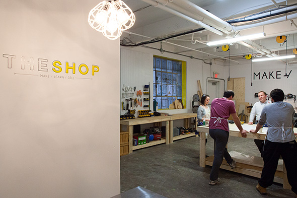MakeWorks brings innovation to former shoe factory on College St.