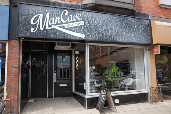 Man Cave Barber Toronto Review : Mancave barbers lounge to toronto
