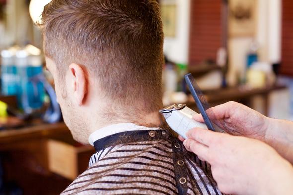 blood and bandages barber