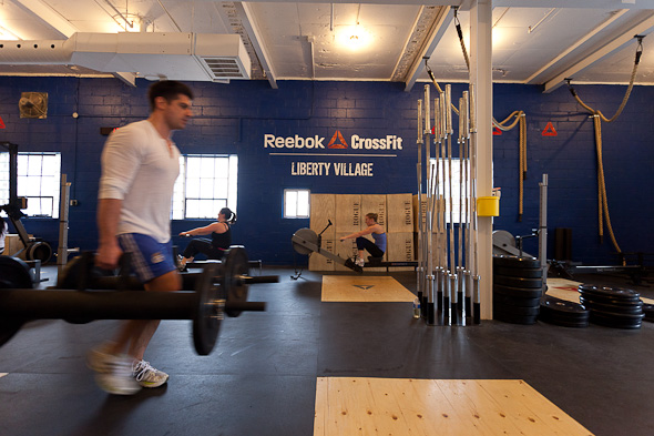 reebok crossfit training toronto
