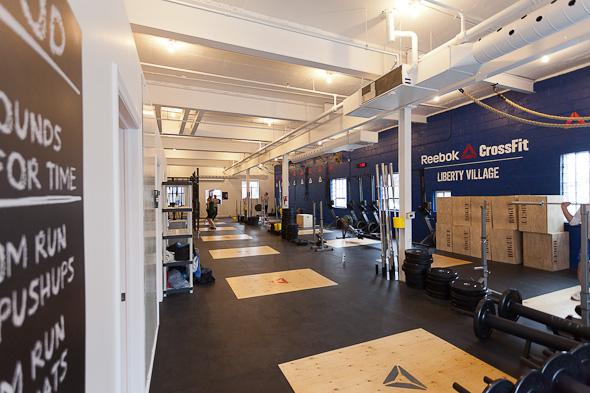 liberty village gym