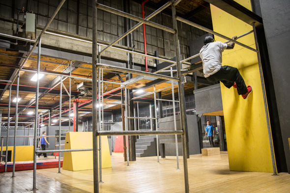 The monkey vault blogto toronto for 3000 sq ft gym layout