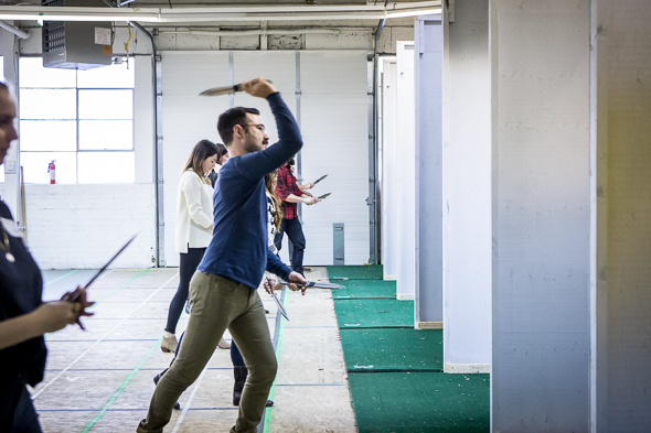 TKTO Toronto knife throwing